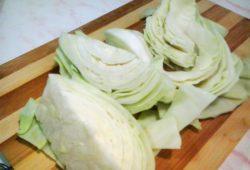 Постные голубцы с овощами и рисом